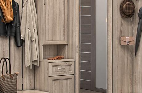 Прихожие: размещение мебели, дизайн и оформление помещения