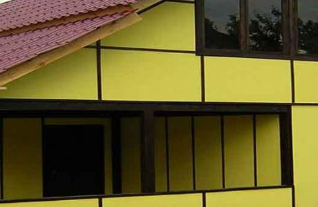 Сэндвич-панели в быстром строительстве частного дома